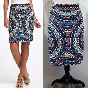Anthropologie •• Tabitha Olmeda pencil skirt
